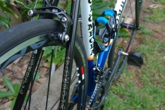 Showing off some of the tube profiles, Columbus Ultra Foco.